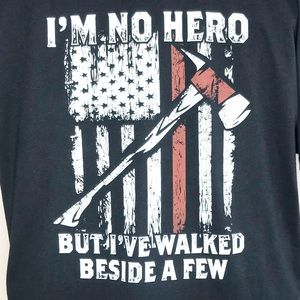 Firefighter First Responder Honor Hero T-Shirt XXL